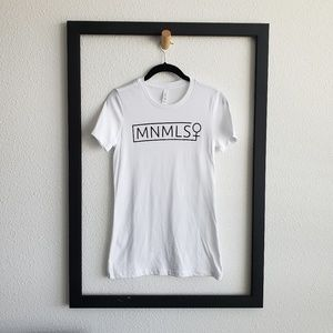 Minimalist Woman Signature Tee